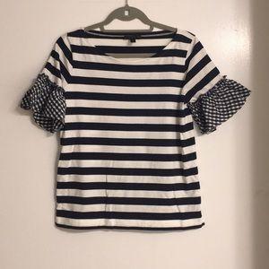 J.Crew Short Sleeve Shirt, Size Small
